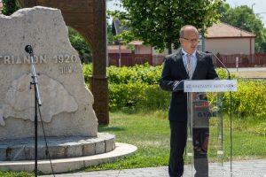 Erős József alpolgármester: a magyarság a történelem folyamán öt krisztusi sebet kapott