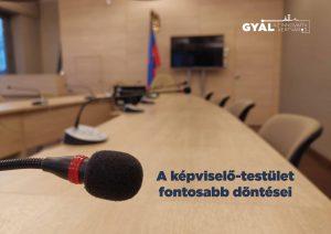 Képviselő-testületi beszámoló – 2021. június