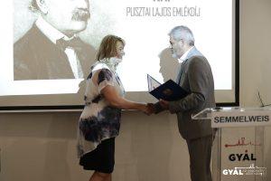 A Semmelweis-napi ünnepségen adták át az idei Dr. Pusztai Lajos Emlékdíjat