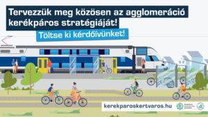 Kerékpáros Kertváros stratégia – Elindult a kérdőíves felmérés!